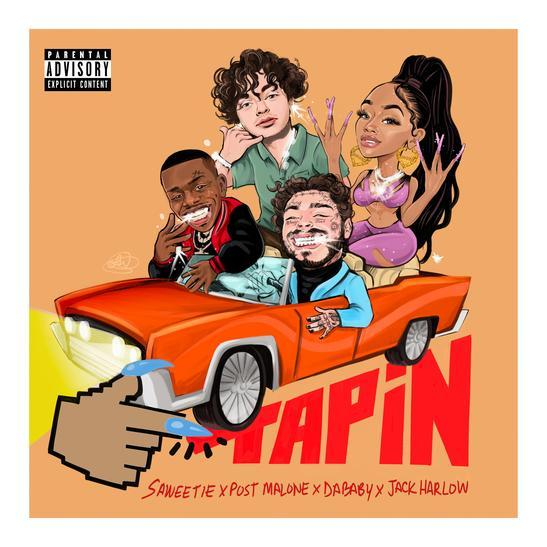 Saweetie Tap In (Remix) ft. DaBaby, Post Malone, Jack Harlow MP3 DOWNLOAD.  Saweetie released another new song titled Tap In (Remix) featuring DaBaby